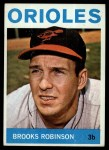 1964 Topps #230   Brooks Robinson Front Thumbnail