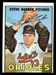 1967 Topps #82   Steve Barber Front Thumbnail