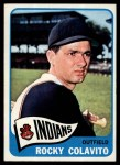 1965 Topps #380   Rocky Colavito Front Thumbnail
