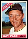 1966 Topps #461  Roy Face  Front Thumbnail