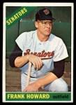 1966 Topps #515   Frank Howard Front Thumbnail
