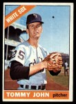 1966 Topps #486  Tommy John  Front Thumbnail