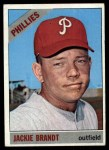 1966 Topps #383   Jackie Brandt Front Thumbnail