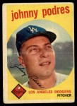 1959 Topps #495  Johnny Podres  Front Thumbnail