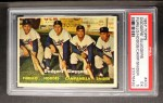 1957 Topps #400   -  Carl Furillo / Gil Hodges / Roy  Campanella / Duke Snider Dodgers' Sluggers Front Thumbnail