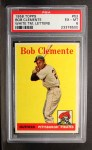 1958 Topps #52 WT  Roberto Clemente Front Thumbnail