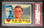 1960 Topps #475   Don Drysdale Front Thumbnail