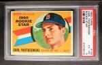 1960 Topps #148   -  Carl Yastrzemski Rookies Front Thumbnail