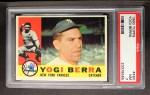 1960 Topps #480   Yogi Berra Front Thumbnail
