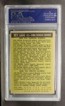 1961 Topps #307   -  Mickey Mantle 1960 World Series - Game #2 - Mantle Slams 2 Homers Back Thumbnail