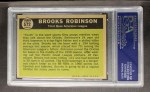 1961 Topps #572  All-Star  -  Brooks Robinson Back Thumbnail