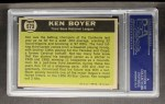 1961 Topps #573  All-Star  -  Ken Boyer Back Thumbnail