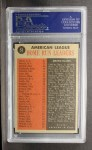 1962 Topps #53  1961 AL Home Run Leaders  -  Roger Maris / Mickey Mantle / Jim Gentile / Harmon Killebrew Back Thumbnail