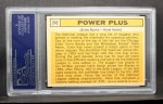 1963 Topps #242   -  Ernie Banks / Hank Aaron Power Plus  Back Thumbnail