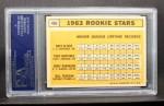 1963 Topps #466  Rookies   -  Bill Freehan / Tony Martinez / Nate Oliver / Jerry Robinson Back Thumbnail
