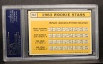 1963 Topps #562   Rookie Stars    -  Ken Rowe / Randy Cardinal / Don Rowe / Dave McNally Back Thumbnail