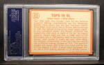 1964 Topps #423  Tops in NL  -  Willie Mays / Hank Aaron Back Thumbnail