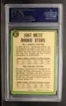 1967 Topps #581   Mets Rookie Stars  -  Bill Denehy / Tom Seaver Back Thumbnail