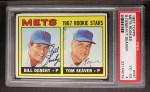 1967 Topps #581   Mets Rookie Stars  -  Bill Denehy / Tom Seaver Front Thumbnail