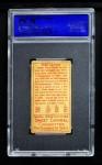 1911 T205 #35  Fred Clarke  Back Thumbnail