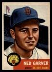 1953 Topps #112  Ned Garver  Front Thumbnail