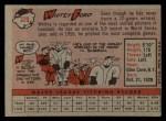 1958 Topps #320   Whitey Ford Back Thumbnail