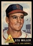 1953 Topps #183  Stu Miller  Front Thumbnail