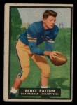 1951 Topps #18  Bruce Patton  Front Thumbnail