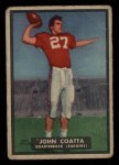 1951 Topps #17  John Coatta  Front Thumbnail
