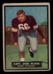 1951 Topps #49   Don McRae Front Thumbnail