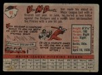 1958 Topps #65 WN  Von McDaniel Back Thumbnail