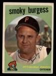 1959 Topps #432   Smoky Burgess Front Thumbnail