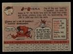 1958 Topps #11 WT  Jim Rivera Back Thumbnail
