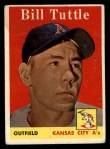 1958 Topps #23 WN  Bill Tuttle Front Thumbnail