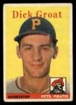1958 Topps #45   Dick Groat Front Thumbnail