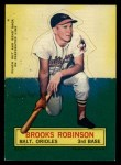 1964 Topps Stand Ups #61   Brooks Robinson Front Thumbnail