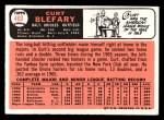 1966 Topps #460  Curt Blefary  Back Thumbnail
