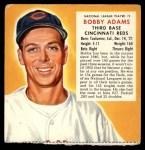 1953 Red Man #2 NLx Bobby Adams  Front Thumbnail