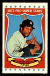 1973 Kelloggs 2D #43  Willie Davis  Front Thumbnail