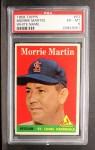 1958 Topps #53 WN  Morrie Martin Front Thumbnail