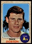 1968 Topps #62  Chuck Dobson  Front Thumbnail