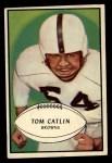 1953 Bowman #35  Tom Catlin  Front Thumbnail