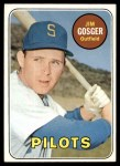 1969 Topps #482 YN  Jim Gosger Front Thumbnail