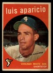 1959 Topps #310  Luis Aparicio  Front Thumbnail