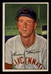 1952 Bowman #150   Herm Wehmeier Front Thumbnail