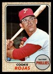 1968 Topps #39   Cookie Rojas Front Thumbnail