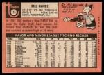 1969 Topps #115   Bill Hands Back Thumbnail