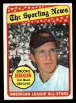 1969 Topps #421  All-Star  -  Brooks Robinson Front Thumbnail