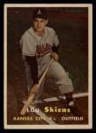 1957 Topps #83  Lou Skizas  Front Thumbnail