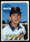 1969 Topps #547   Billy Martin Front Thumbnail